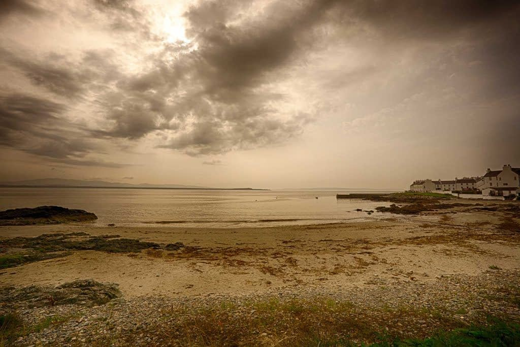 Port Charlotte, Islay, Scotland, HDR Efex, no noise reduction
