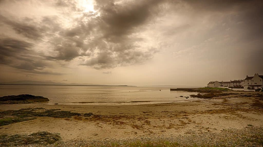 Port Charlotte, Islay, Scotland. Google Nik HDR Efex and Dfine noise reduction.
